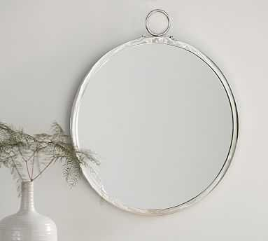 Logan Round Mirror - Pottery Barn