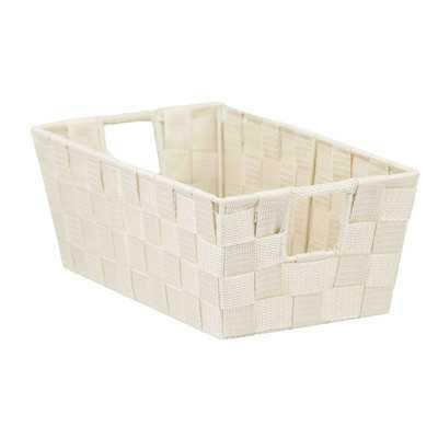 Non-Woven Open Strap Fabric Basket (Set of 2) - Wayfair