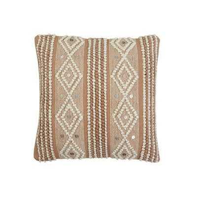 Arkwright Hand Woven Cotton Throw Pillow - Wayfair
