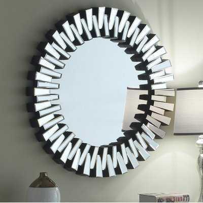 Bekey Accent Mirror - Wayfair