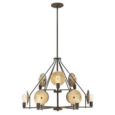 Anspach 9-Light Candle Style Tiered Chandelier - AllModern