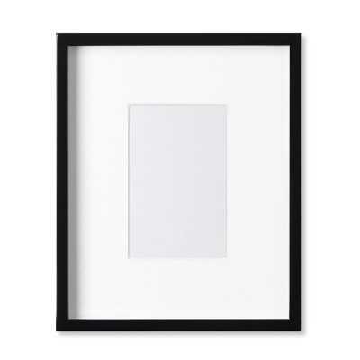 "Black Lacquer Gallery Picture Frame, 4"" X 6"" - Williams Sonoma"