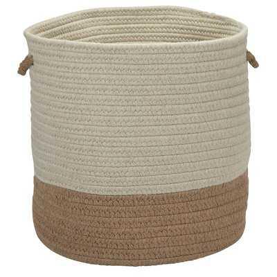 Coastal Sunbrella Basket - Wayfair
