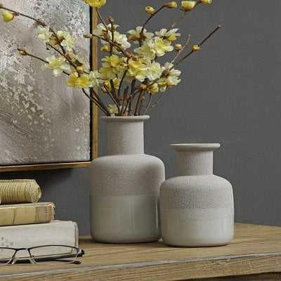 Felicia Beau 2 Piece Table Vase Set - Wayfair