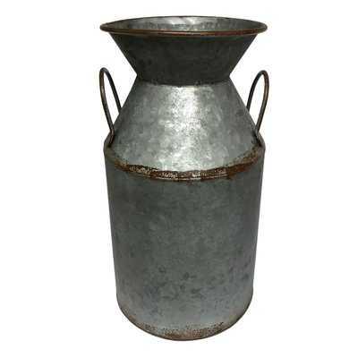 Carice Double Handle Milk Table Vase - Wayfair