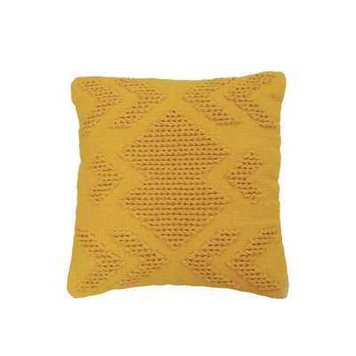 Westerly Hand Woven Cotton Throw Pillow - AllModern