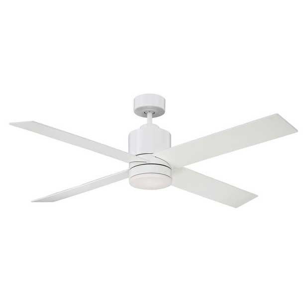 Filament Design 52 in. White Ceiling Fan - Home Depot
