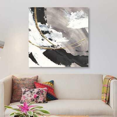 'Gilded Arcs I' Print on Canvas - Wayfair