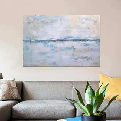 'Abstract Seascape XXII' Graphic Art Print on Canvas - Wayfair