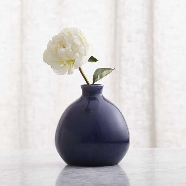 Mireya Blue Vase - Crate and Barrel