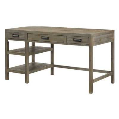 Upson Wood Writing Desk - Wayfair