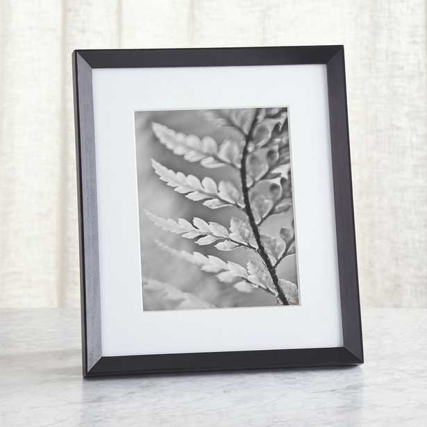 Icon 8x10 Black Picture Frame - Crate and Barrel