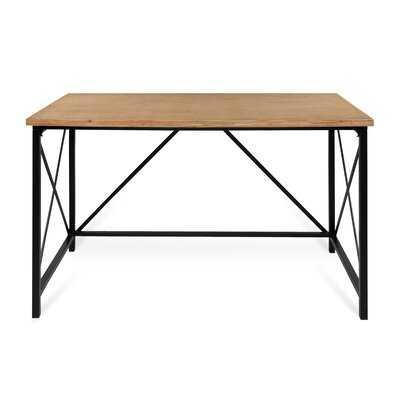 Ironton Solid Wood Desk - Wayfair