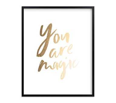 Magical Wall Art by Minted(R), 16x20, Black - Pottery Barn Kids