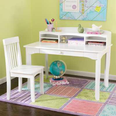 "Avalon 42"" W 3 Piece Writing Desk Set - AllModern"
