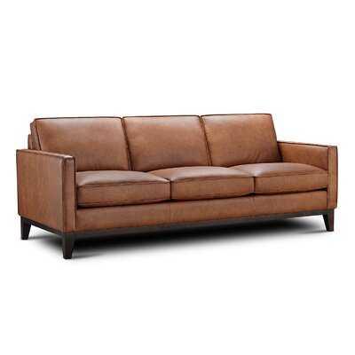 Whitson Leather Sofa - Wayfair