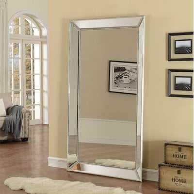 Primm Antique Floor Beveled Full Length Mirror - AllModern
