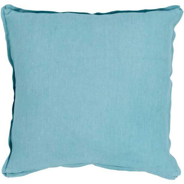 Zevgari Poly Euro Pillow, Blues - Home Depot