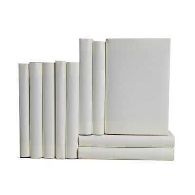 Authentic Decorative Books - By Color Modern Chiffon ColorPak (Wrap) (1 Linear Foot, 10-12 Books) - Wayfair