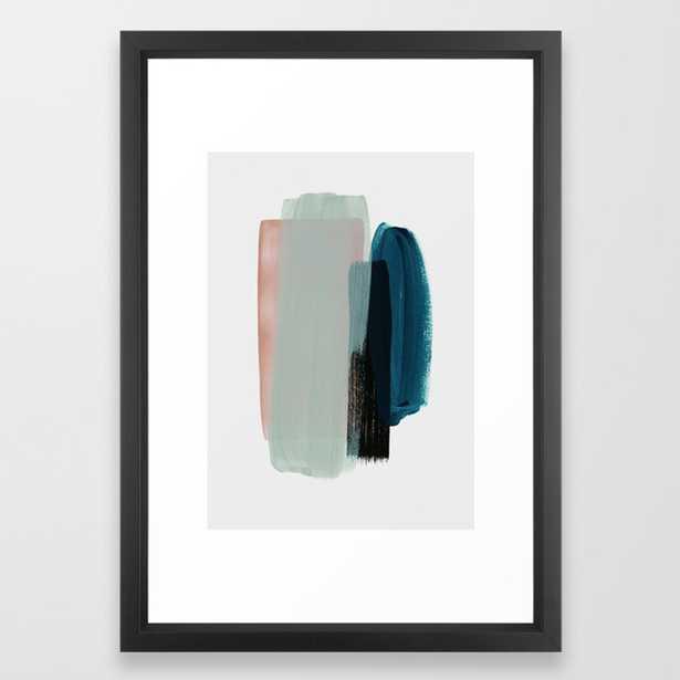 minimalism 12 Framed Art Print by Patternization - Society6