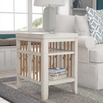Chaz Chairside Table - Wayfair