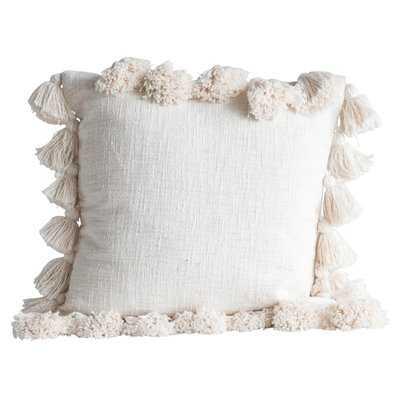 Tena Luxurious Cotton Throw Pillow - Wayfair
