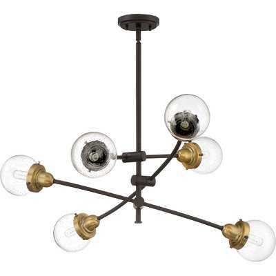 Brucie 6-Light Sputnik Chandelier - Wayfair