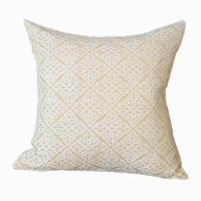 Chenille Jacquard Throw Pillow - Wayfair