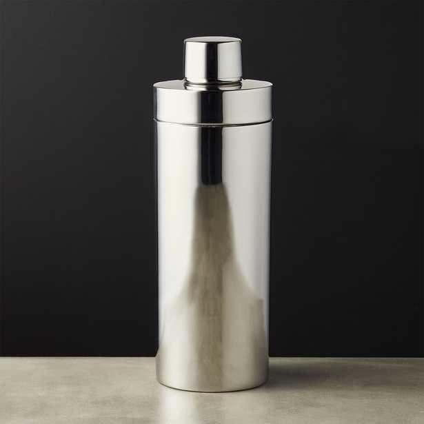Column Stainless Steel Cocktail Shaker - CB2