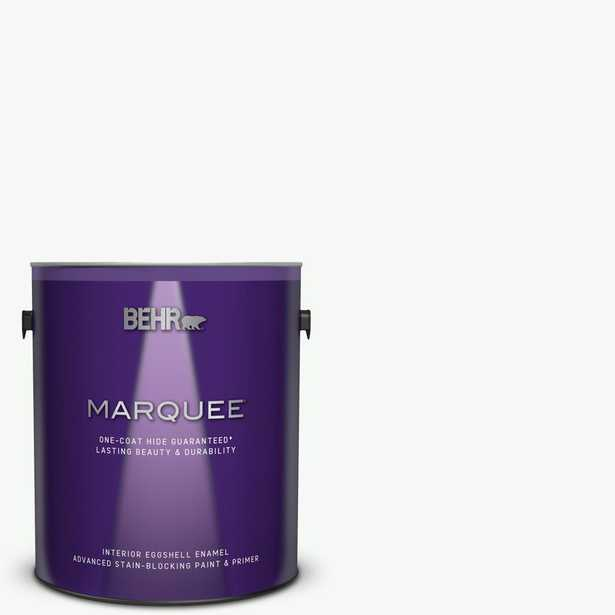 BEHR MARQUEE 1 gal. #PR-W15 Ultra Pure White Eggshell Enamel Interior Paint and Primer in One - Home Depot