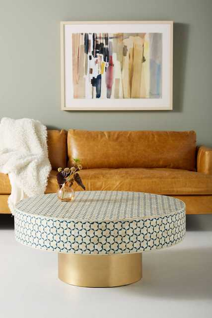 """Targua Moroccan Coffee Table- Large 45"""" - Anthropologie"""
