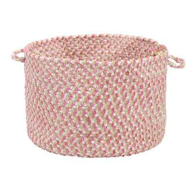 Tea Party Pink Utility Basket - Wayfair