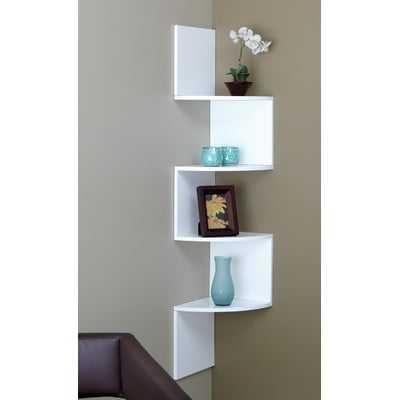 4 Tier Corner Shelf - Wayfair