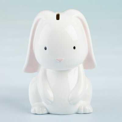 Valliere Bunny Porcelain Piggy Bank - Wayfair