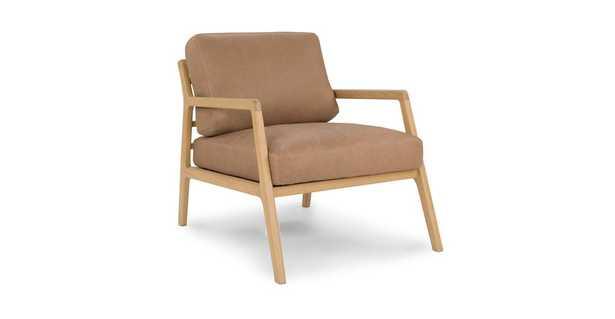 Denman Canyon Tan Chair - Article