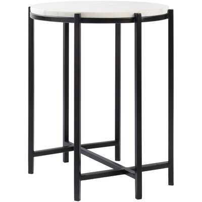 Barrona Modern Black End Table - Wayfair