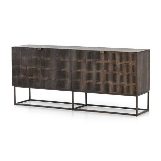 Ivan Wood and Iron Media Console - Crate and Barrel