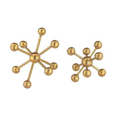 2 Piece Lang Molecules Sculpture Set - AllModern
