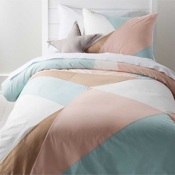 Geo Twin Duvet Cover - Crate and Barrel