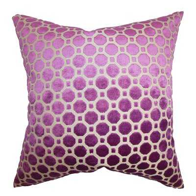 Kostya Velvet Throw Pillow - Wayfair