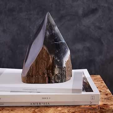 Petrified Wood Pyramid - West Elm
