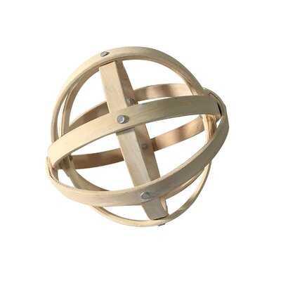 Leis Decorative Ball Sculpture - Wayfair
