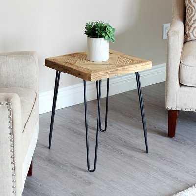 Warnick Diamond Old Elm End Table - Wayfair