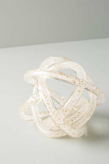 Glitter Knot Decorative Object - Anthropologie