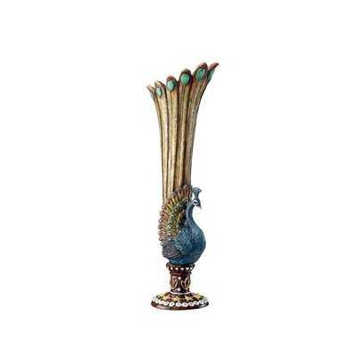 Peacock Bud Vase - Wayfair