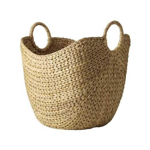 Large Curved Basket - Natural - West Elm
