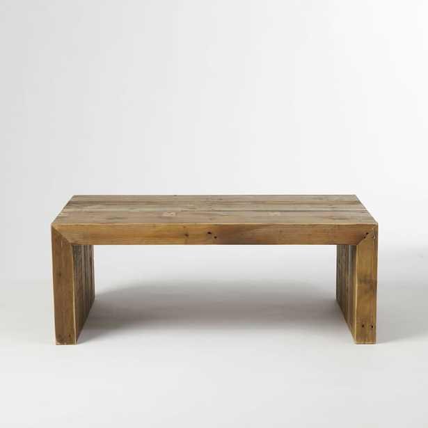 Reclaimed Wood Coffee Table - West Elm