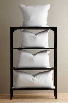 White Duck Feather Pillow Sham Filler - King Size - Havenly Essentials