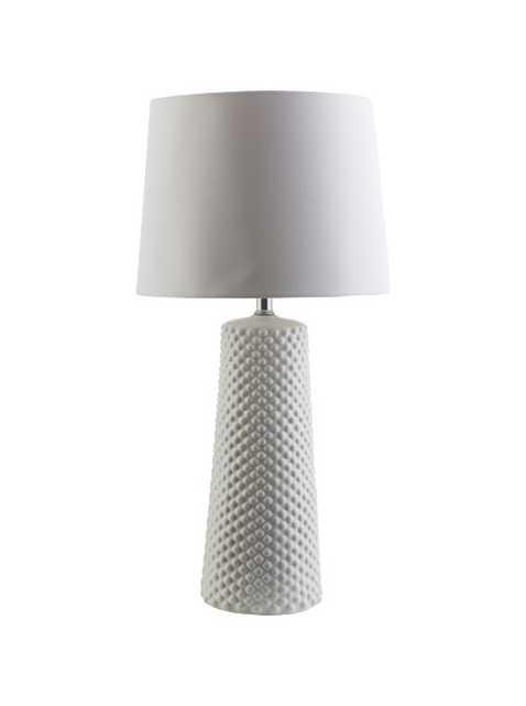 Bubble Table Lamp, White - Lulu and Georgia