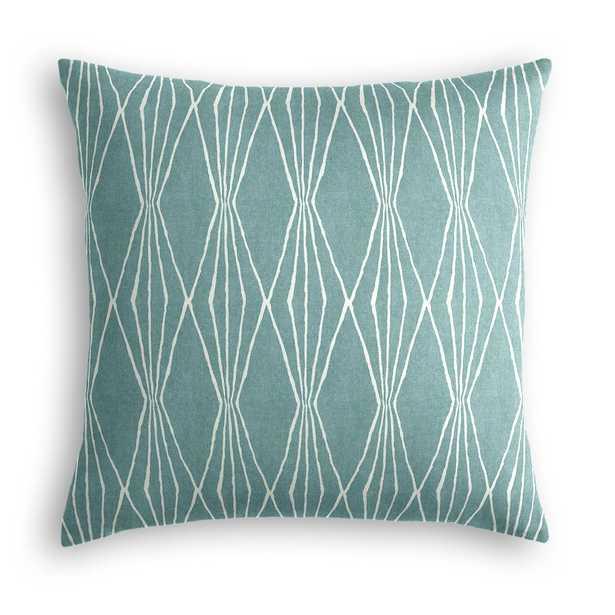 "Simple Throw Pillow - 18''x 18""- Poly insert - Loom Decor"